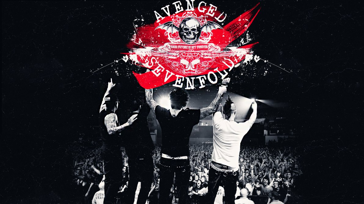 Wallpaper Avenged Sevenfold 1192x670