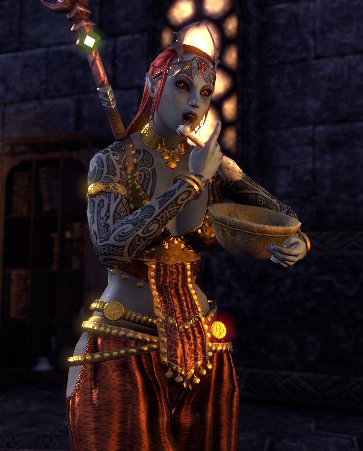 Show off your Dunmer Elder Scrolls Online 738x918