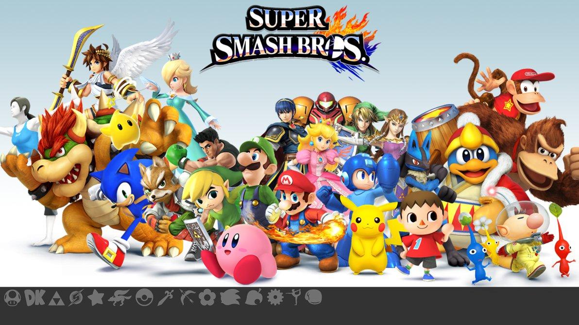 77 Super Smash Bros Brawl Wallpaper On Wallpapersafari