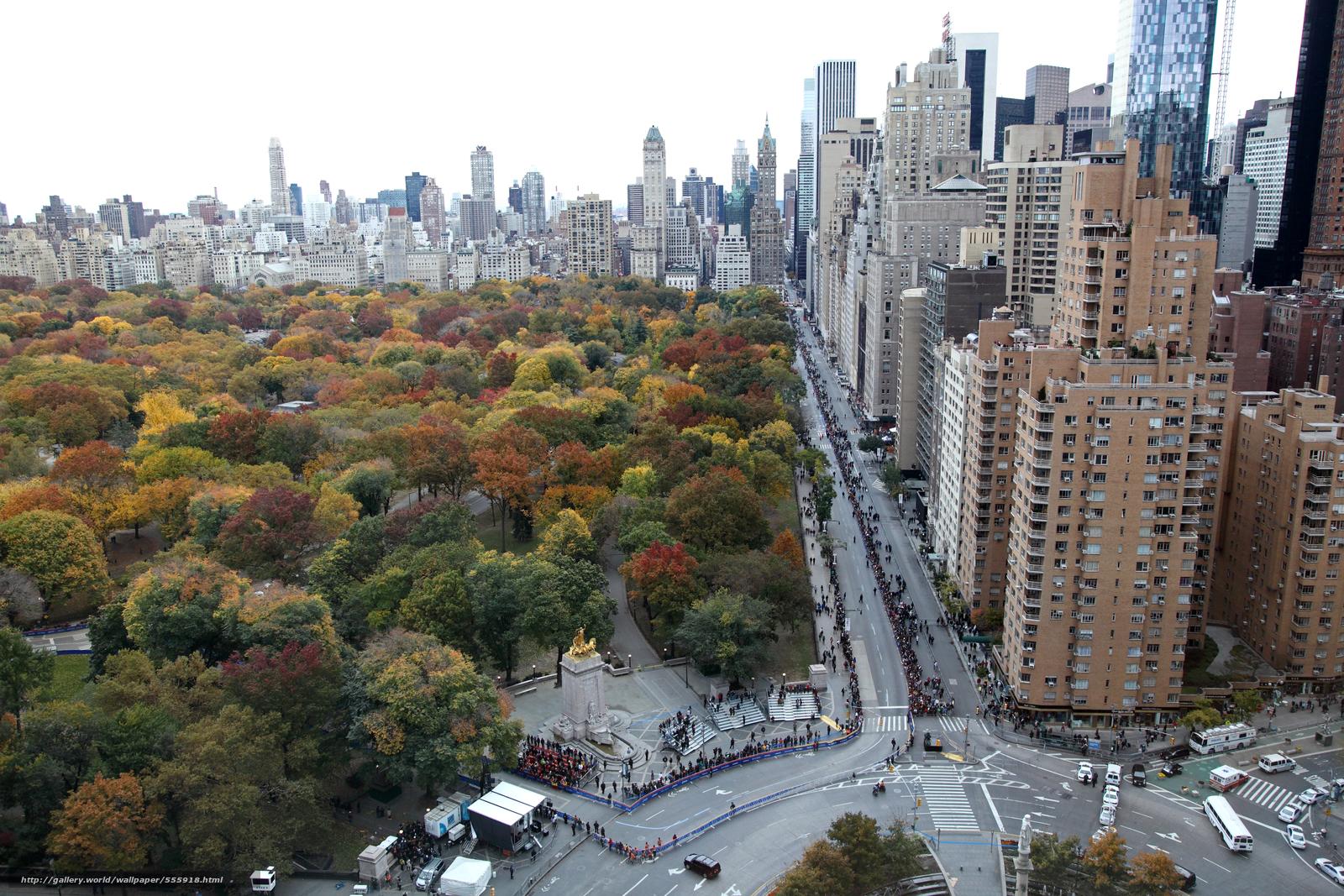wallpaper Central Park Manhattan autumn desktop wallpaper 1600x1067