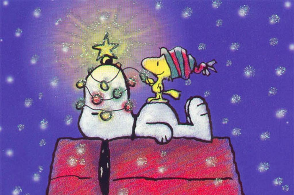 Snoopy Christmas wallpaper   ForWallpapercom 1024x679