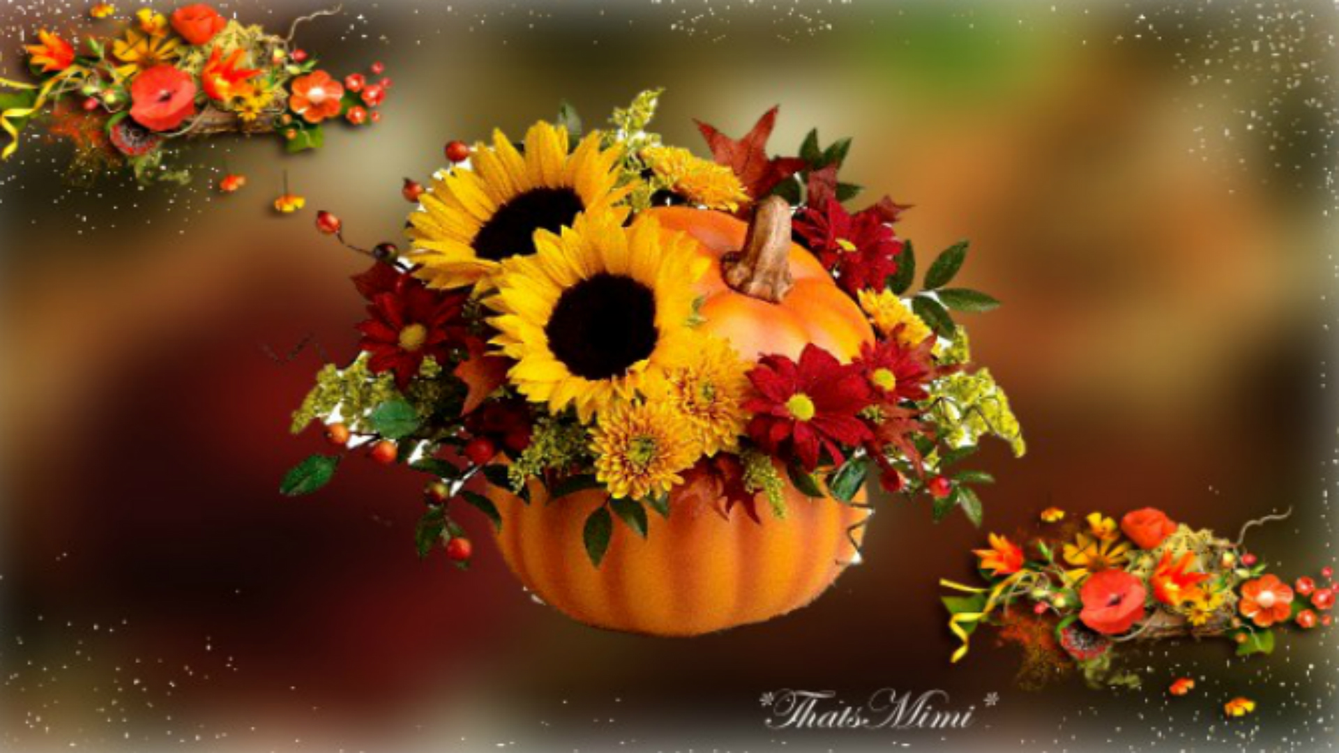 fall flowers wallpaper by - photo #40