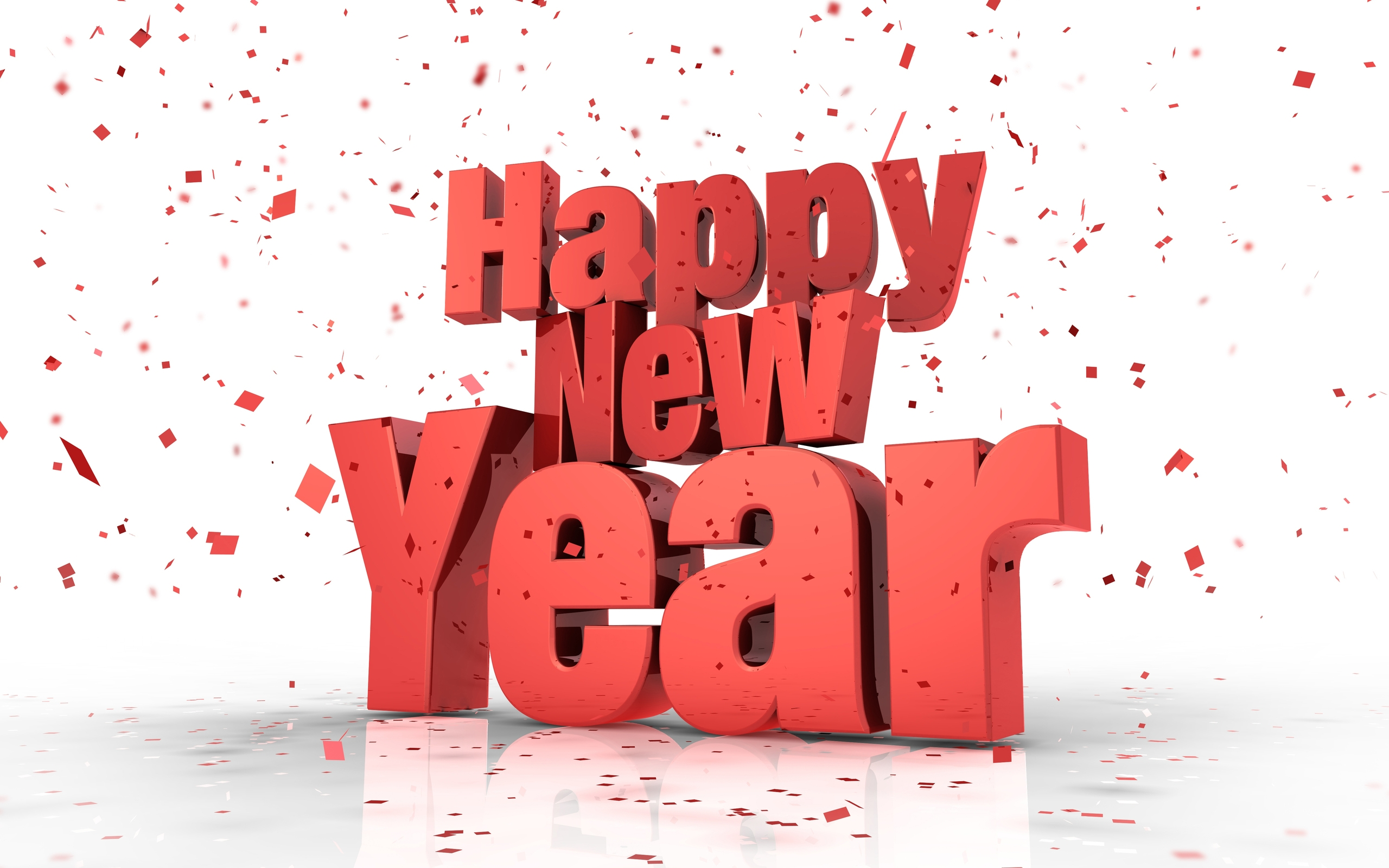 Best 11 Happy New Year 2015 3D Wallpapers   Happy New Year 2015 2560x1600