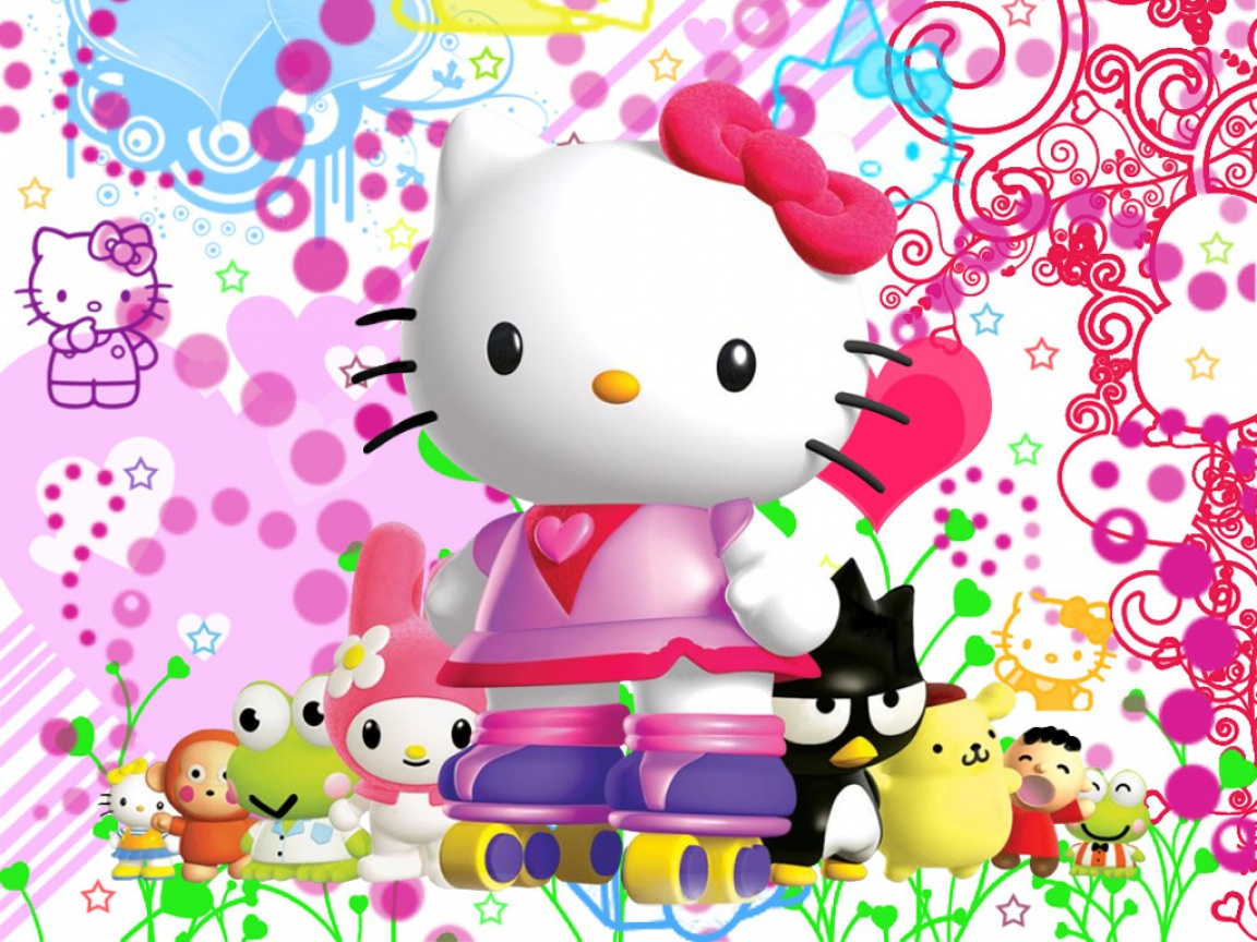 Hello kitty 3d wallpaper best wallpapers hd gallery 3d hello kitty wallpaper wallpapersafari thecheapjerseys Choice Image