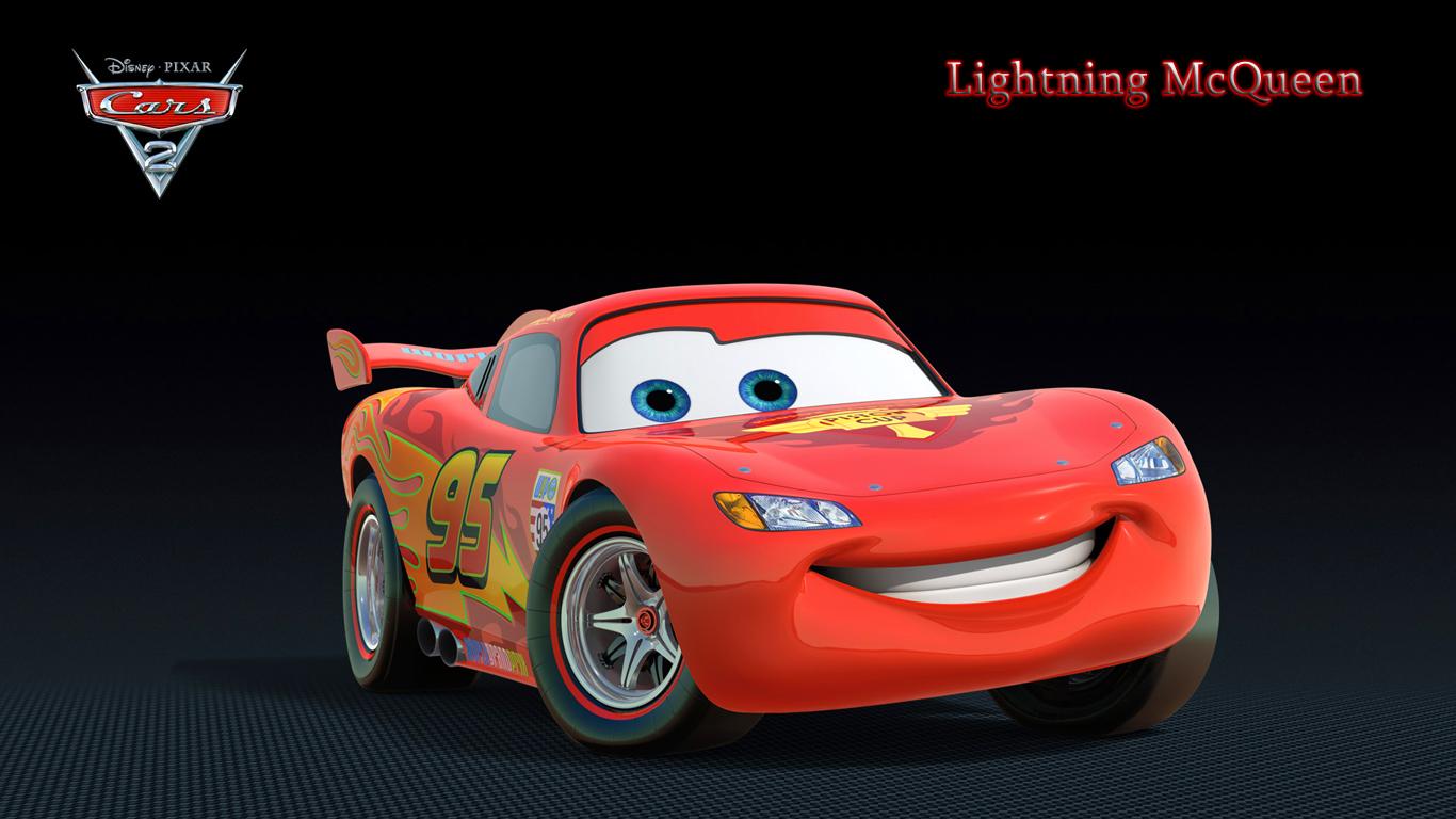 Lightning McQueen 1   Wallpaper at 1366x768 1366x768