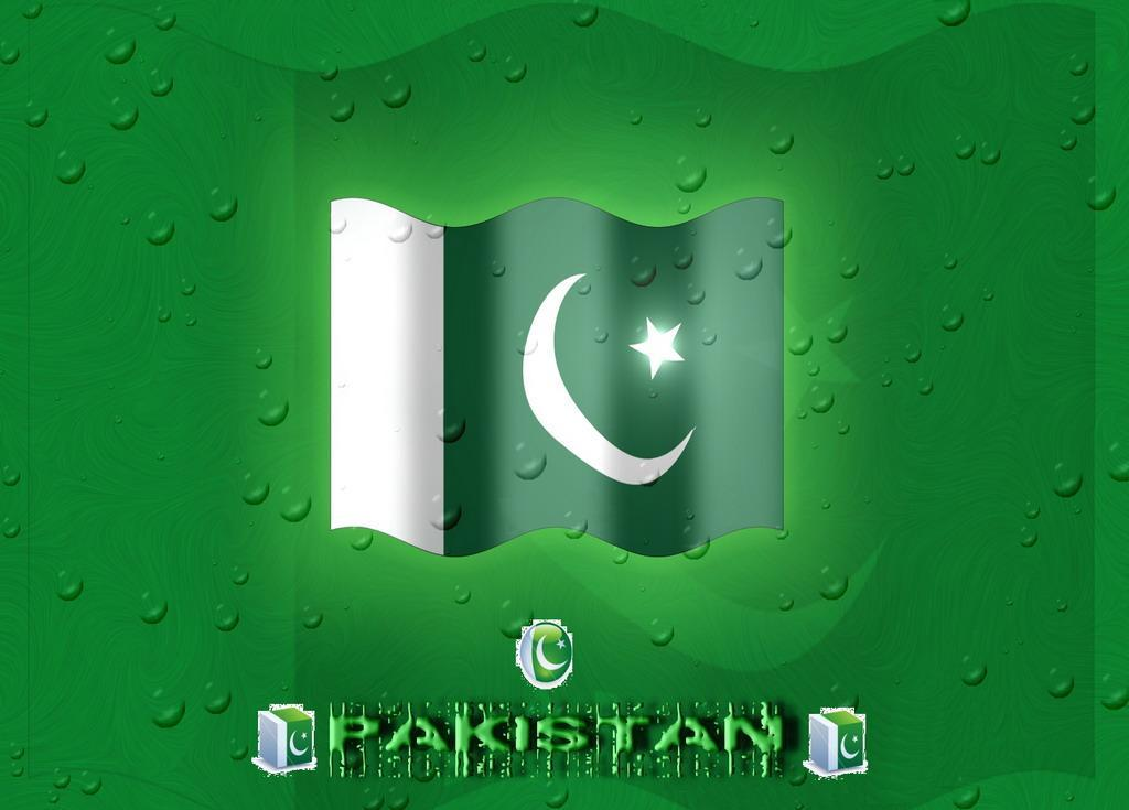 pakistani flag wallpaper Pak Globe 1024x735