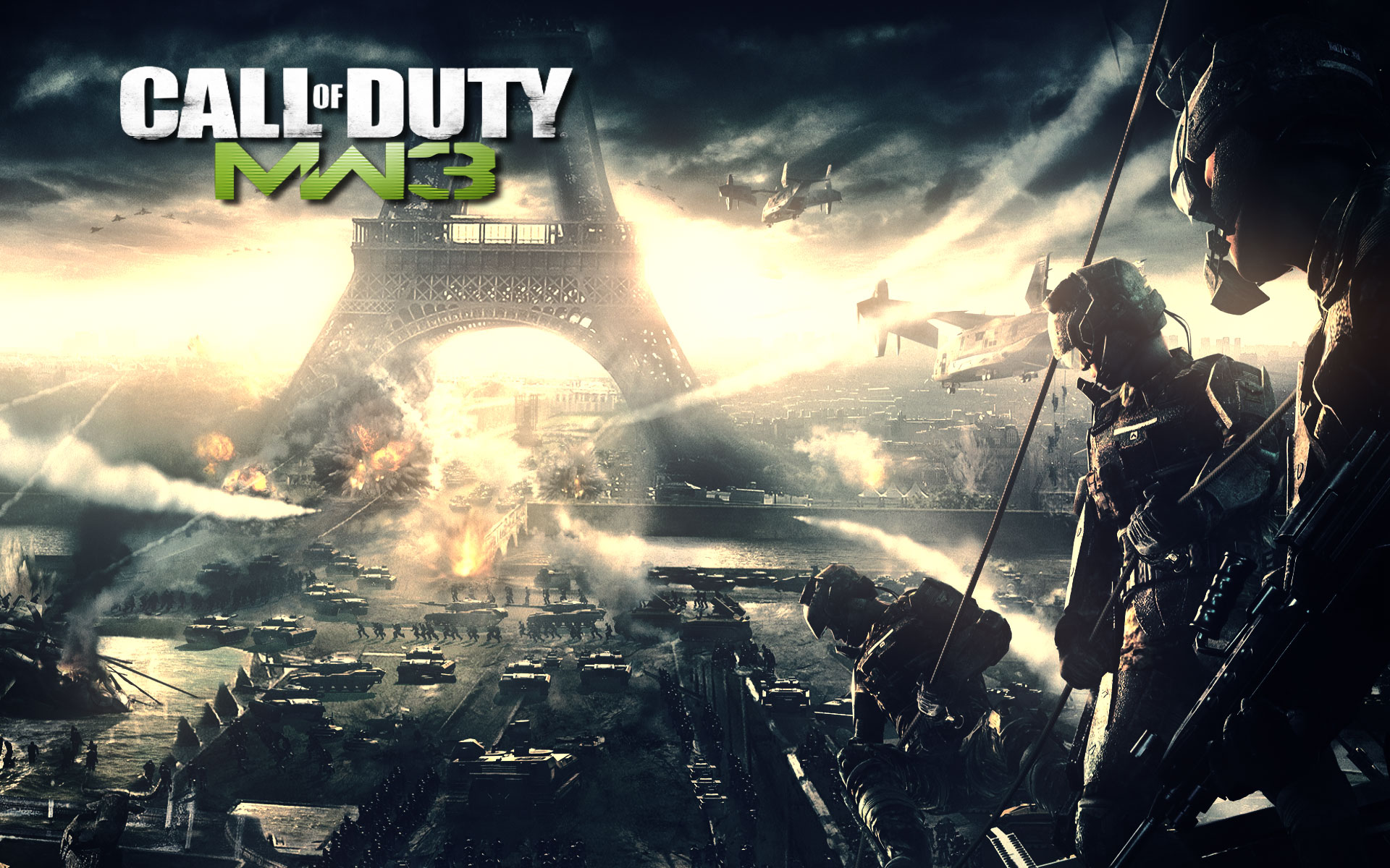 Modern Warfare 3 Paris Wallpapers HD Wallpapers 1920x1200