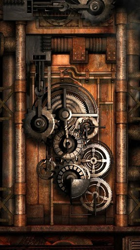 Steampunk Iphone Wallpaper Steampunk live wallpaper   app 288x512