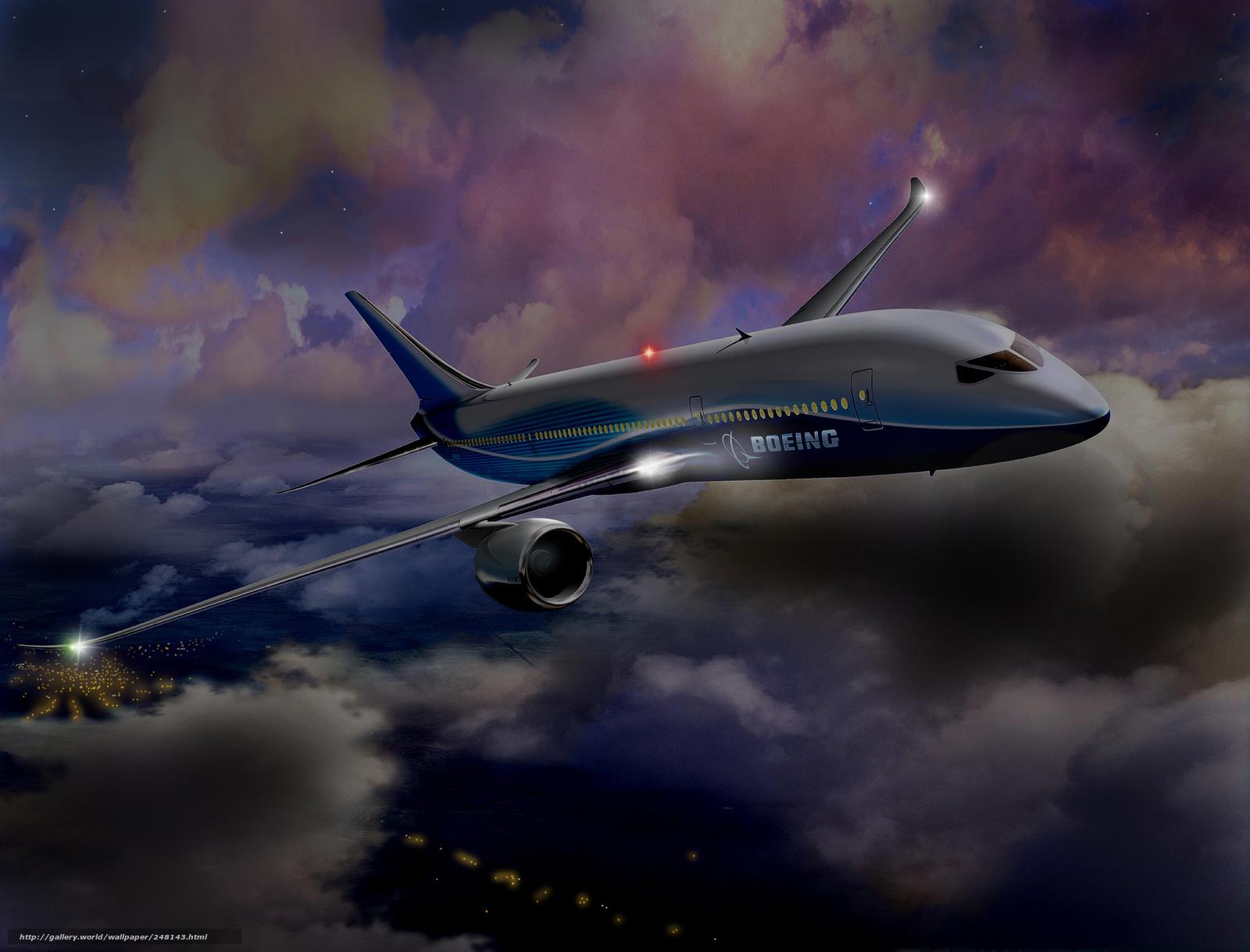 787 wallpaper wallpapersafari - Boeing wallpapers for desktop ...