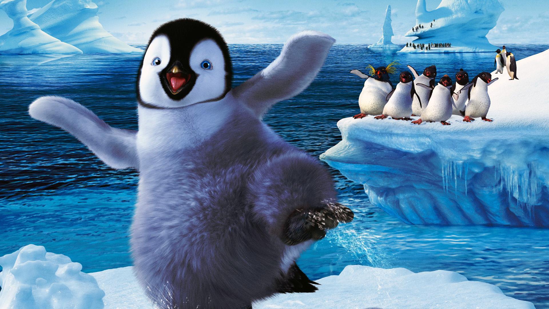 Пингвин в воде  № 96520  скачать