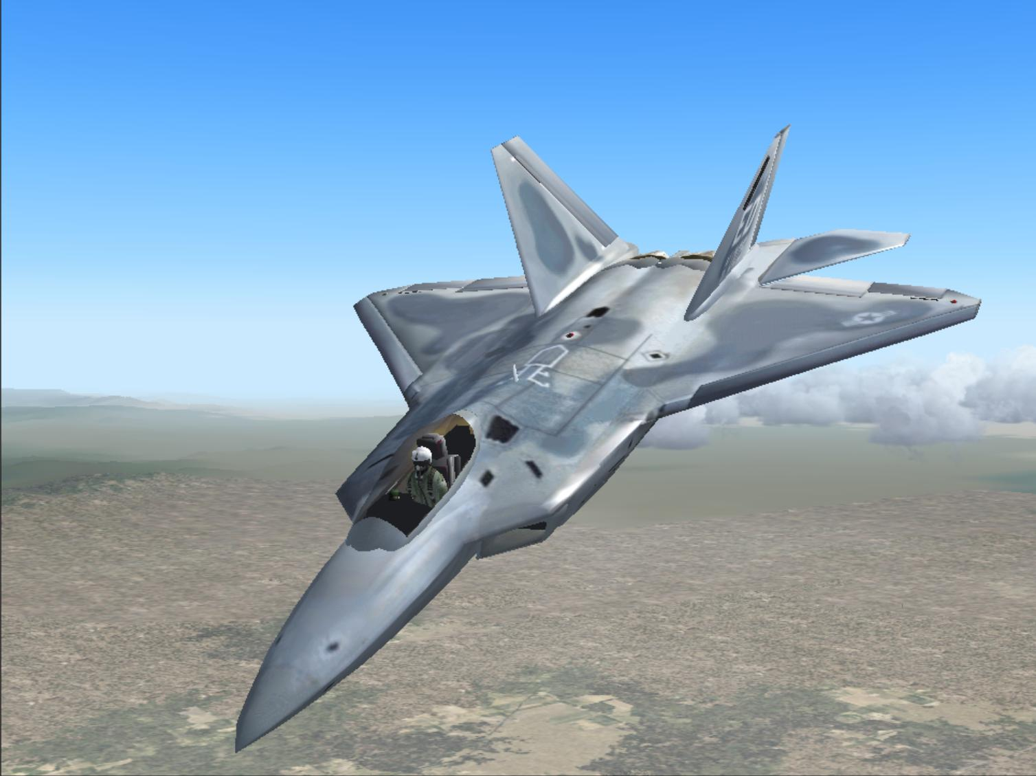 Ziphs on boeing f 22 raptor
