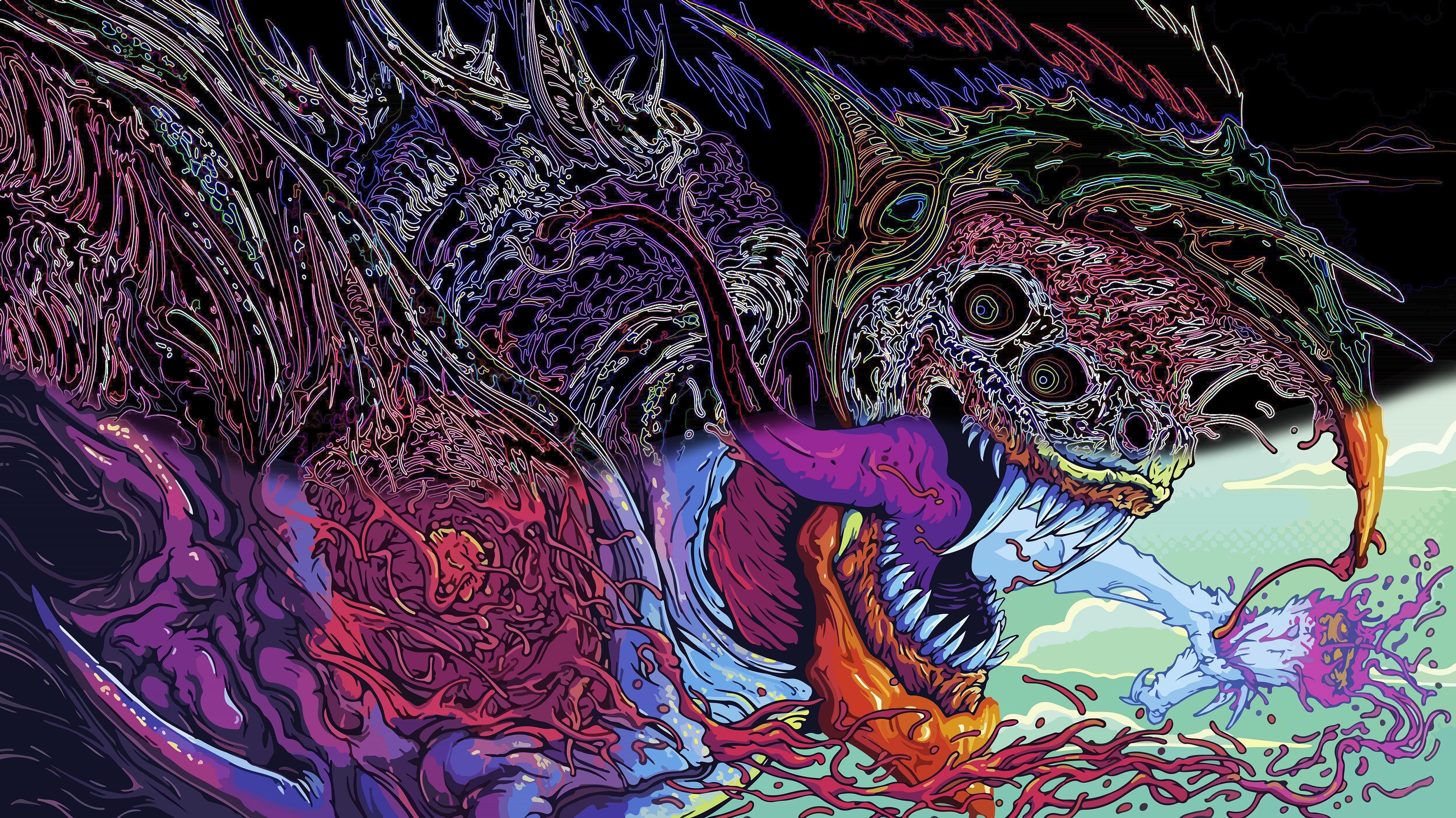 Hyper Beast edit [3440x1440] wallpaper 3440x1935