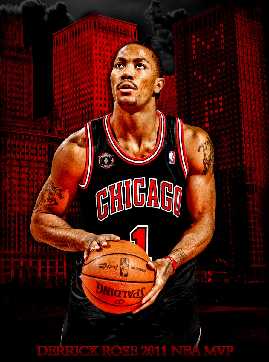 Derrick Rose 2011 MVP by rhurst 900x1213
