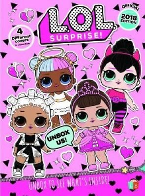 LOL Surprise Doll Annual 2018 Hardback Childrens Books 295x400