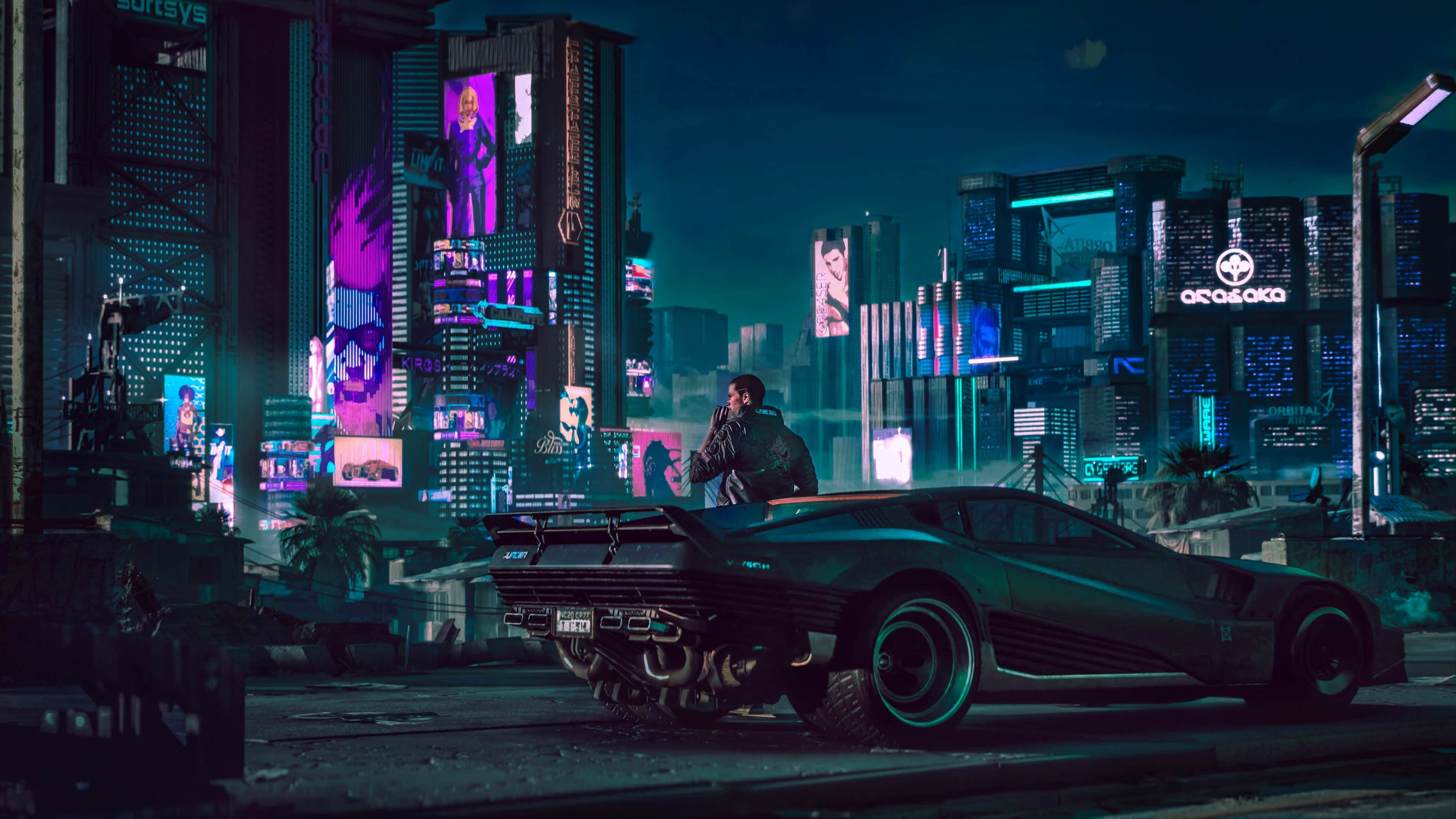 Cyberpunk 2077 Wallpapers   Top Cyberpunk 2077 Backgrounds 3840x2160
