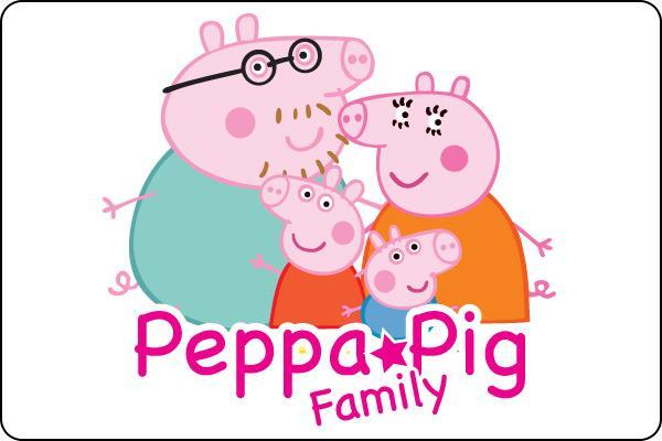 Peppa Pig family desktop image Family wallpapers 600x400