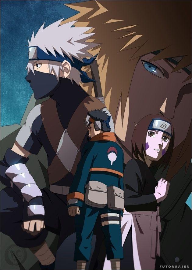 Team Minato images Obito Rin and Kakashi HD wallpaper and Naruto 630x883