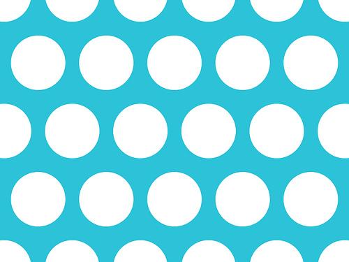 White Polka Dots On Aqua Hard Shell IPad Case By Annaleeblysse 500x375
