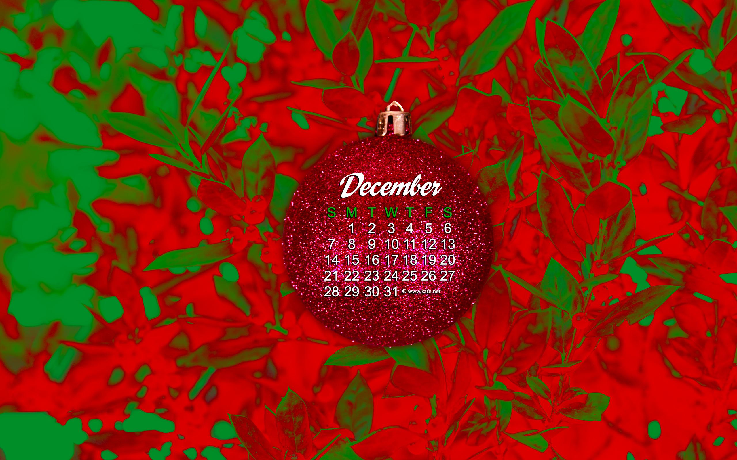 december calendar wallpaper ornament photo wallpaper kate net created 2560x1600