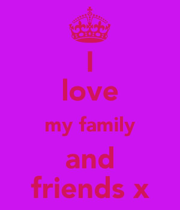 I Love My Family Wallpaper - WallpaperSafari
