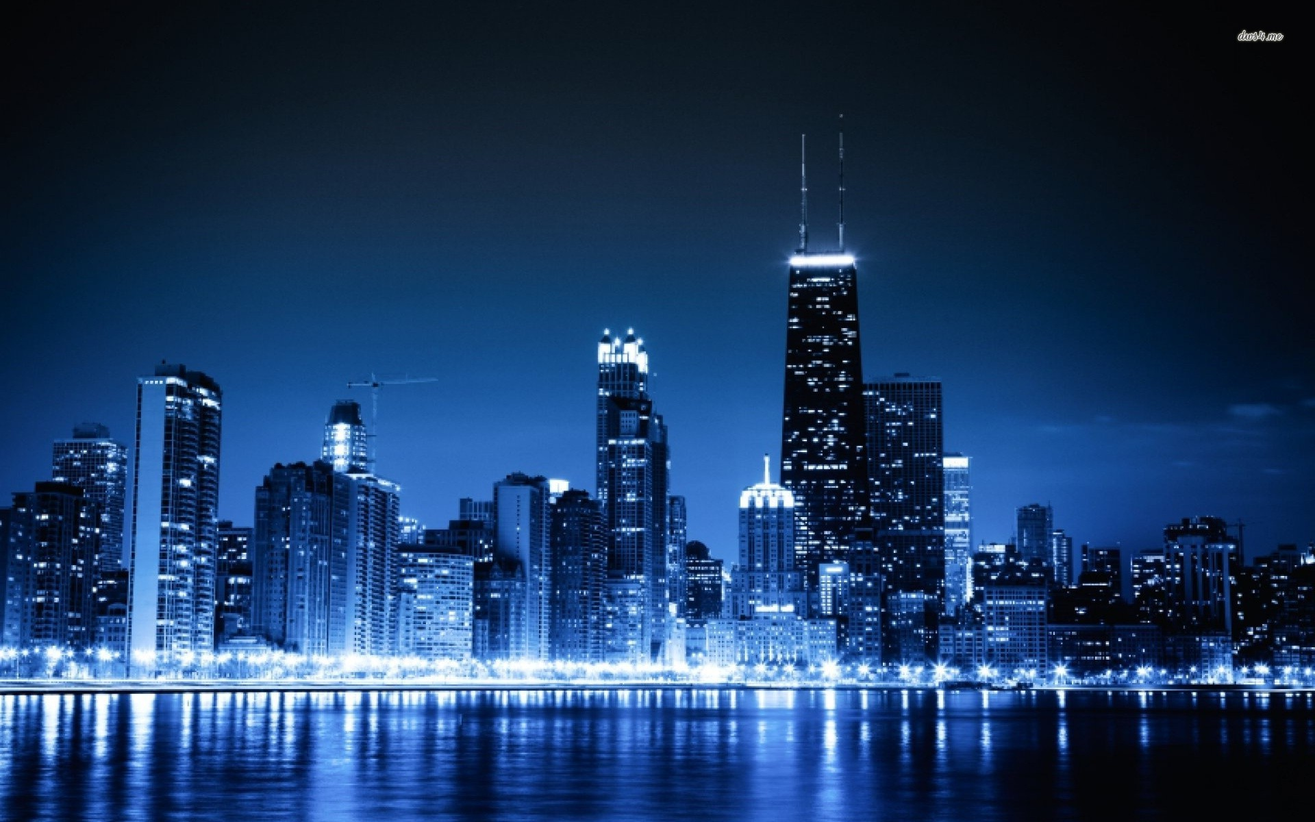 Free Download Related Wallpapers From Chicago At Night Wallpaper