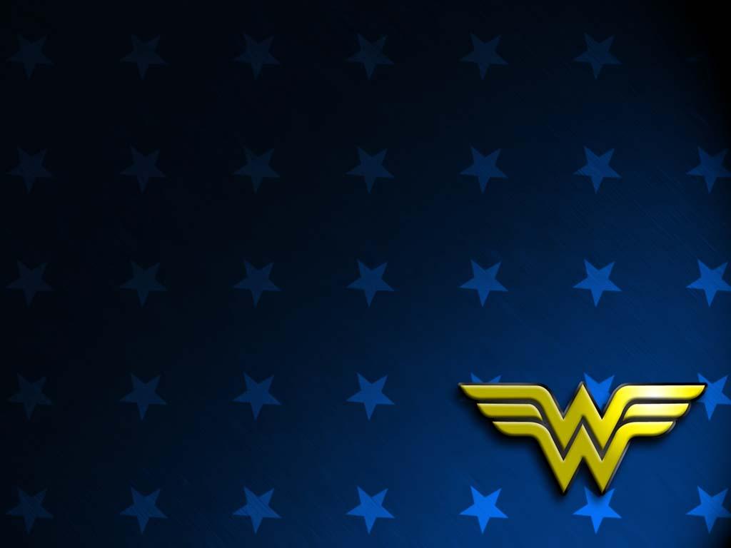 WonderWoman Symbol Wallpaper 1024x768