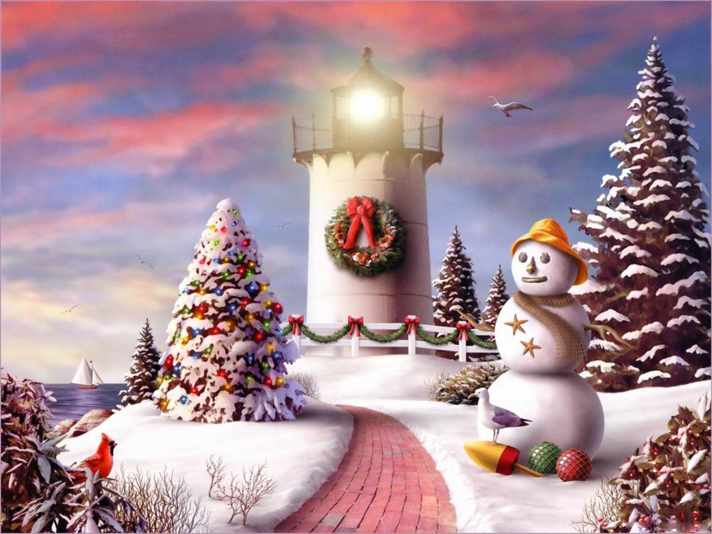 Download Desktop wallpaper 2010 Christmas Wallpapers 1400x1050