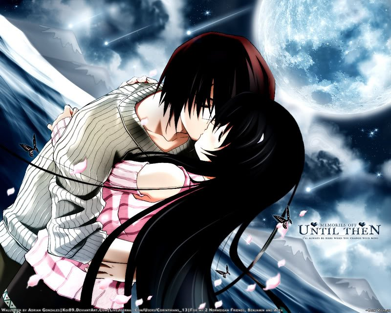 Wallpapers Backgrounds Anime Wallpapers Anime Love Wallpapers for 800x640