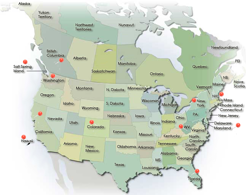 Free download map of canada and us Locate Practitioners ...