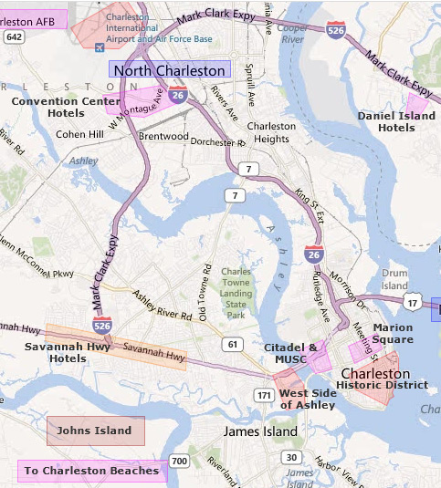 Hotels Near Downtown Charleston South Carolina 483x535