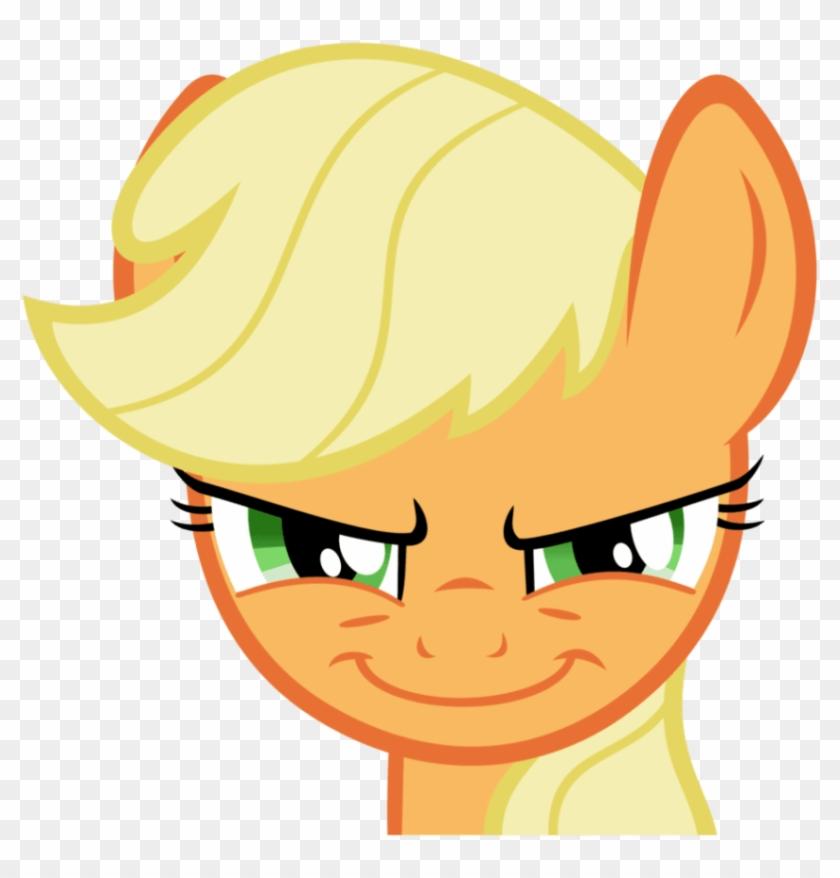 Png Download Applejack Evil Smile Png Images Background   My 840x878