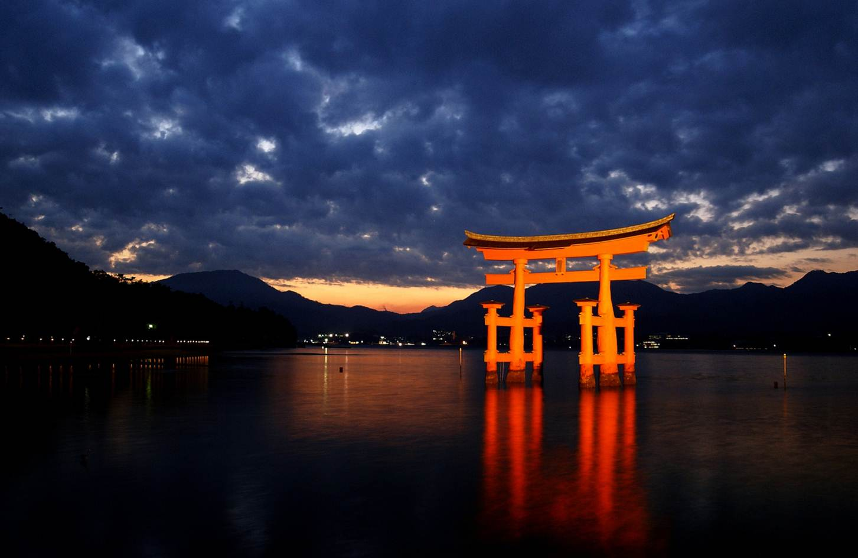Tori Gate Miyajima Japan 113 Wallpapers 1453x944