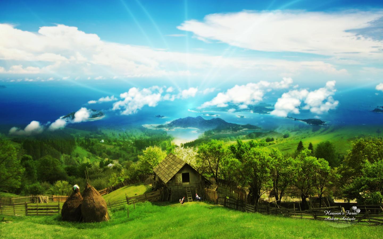 heavens farm hd wallpaper desktop backgroundjpg 1440x900
