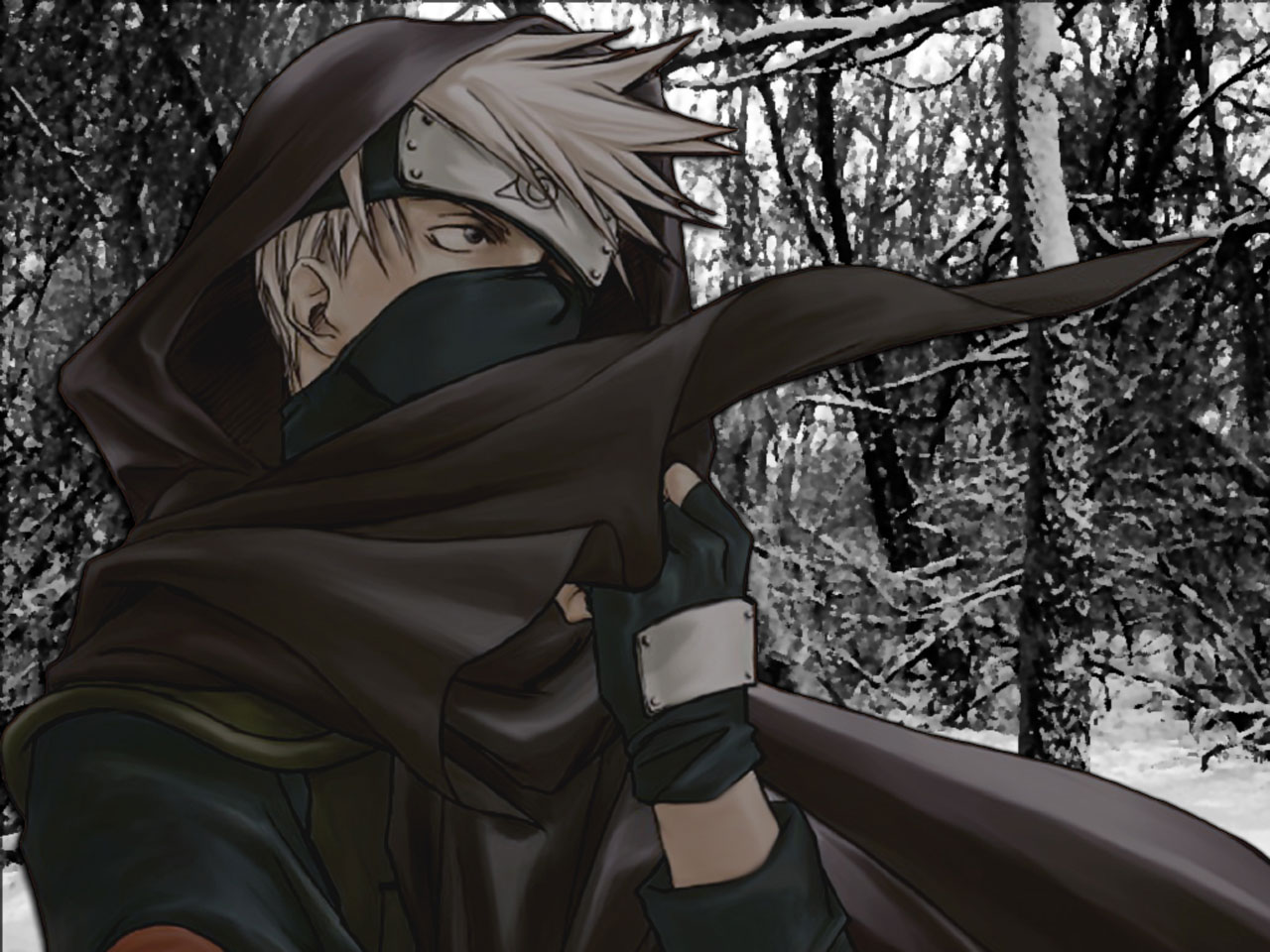 Hatake Kakashi Wallpapers 1280x960