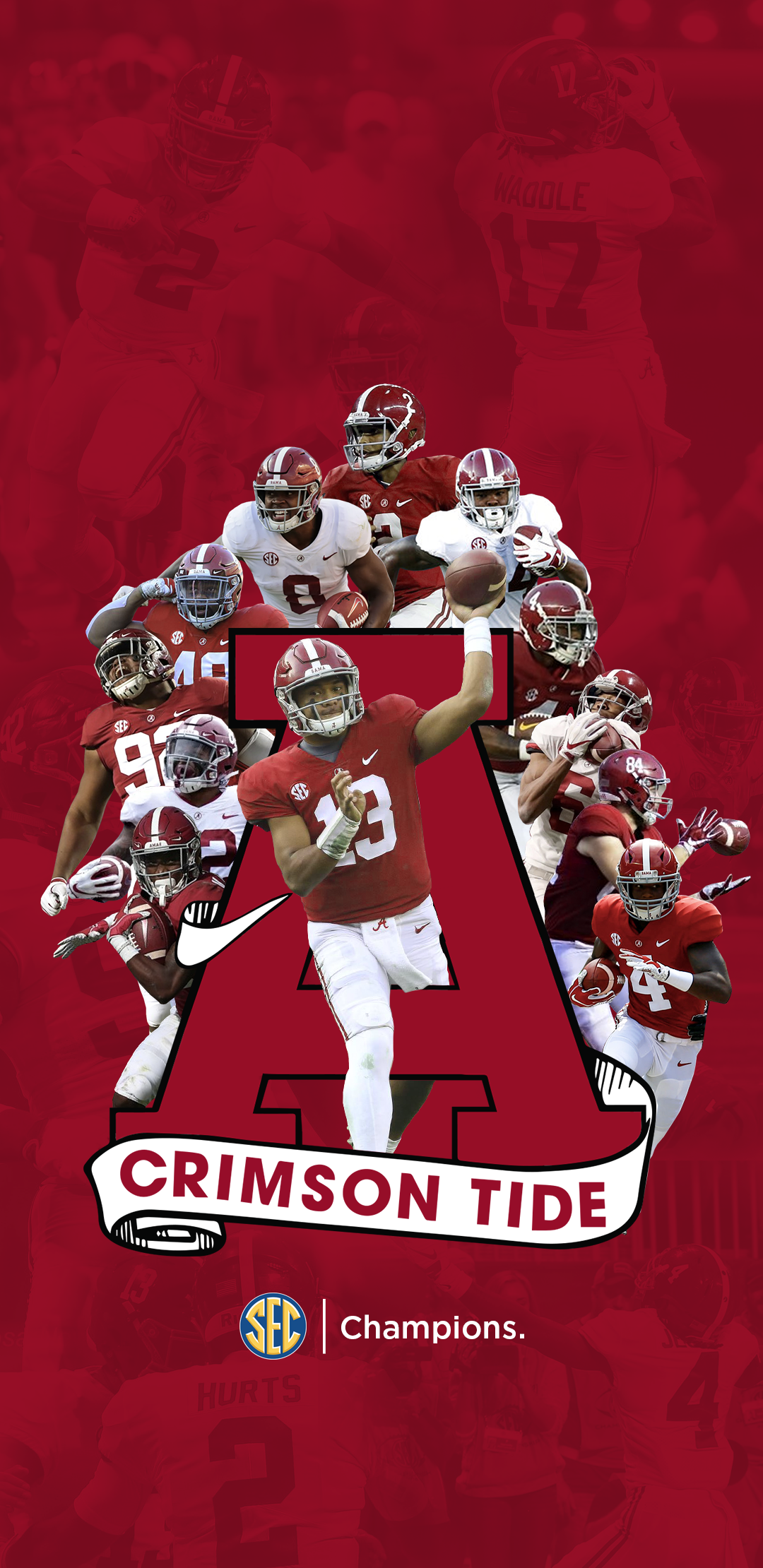 SEC Champions Phone Wallpaper more options in the comments 1080x2220