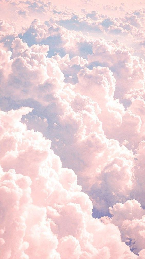 Phone background wallpaper phone paper Pastel clouds 564x1004