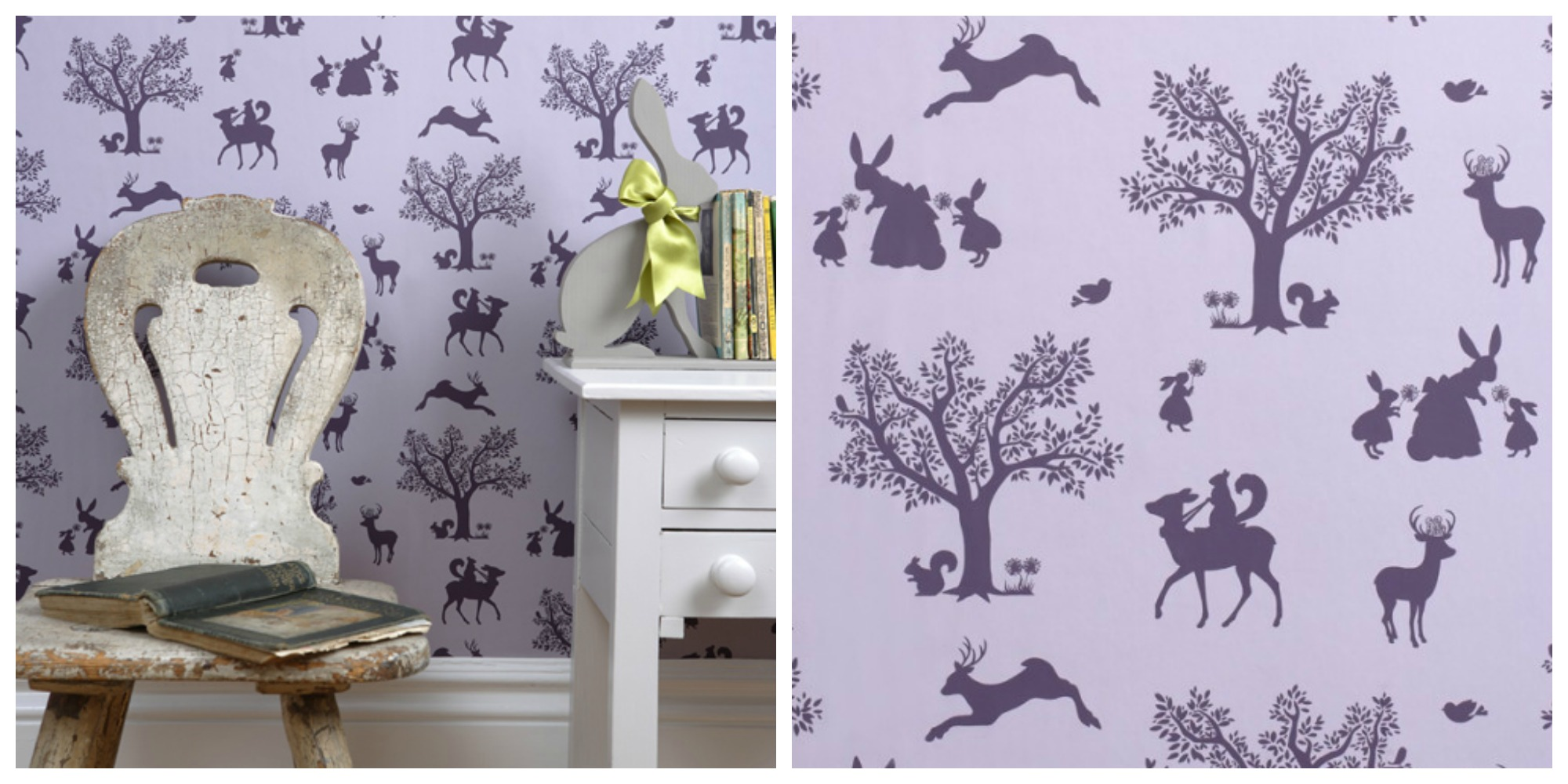 Of These Wonderful Stylish Kids Wallpapers Are Available At Hibou Home