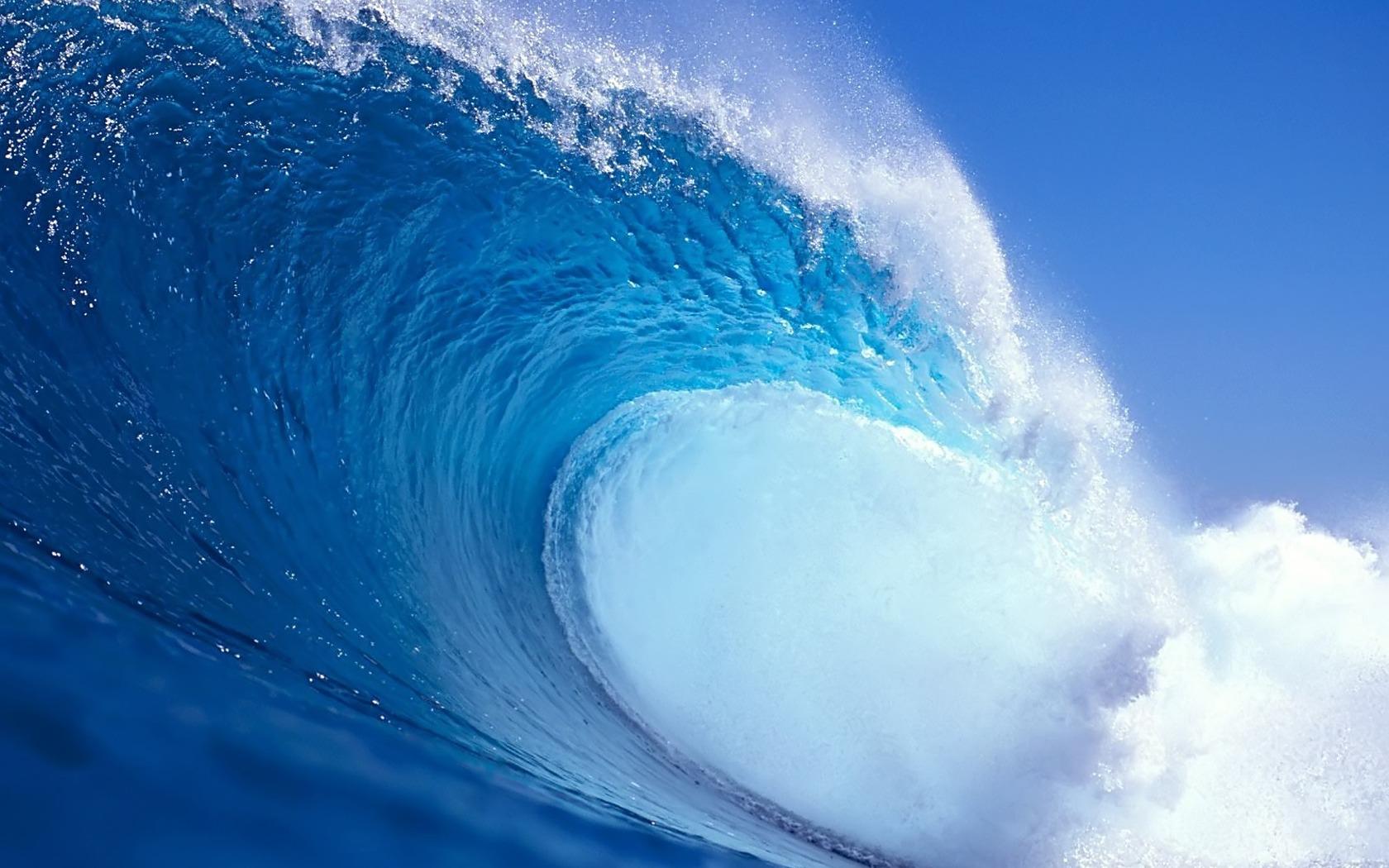 Blue Wave HD Wallpaper Theme Bin   Customization HD Wallpapers 1680x1050