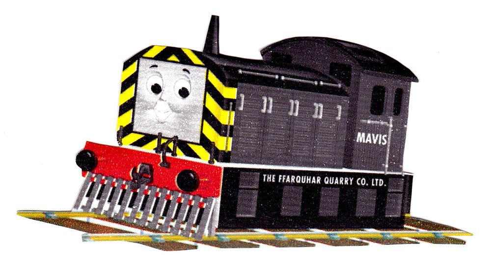 Thomas The Train Tank Character Prepasted Wallpaper Border Cut 1000x542