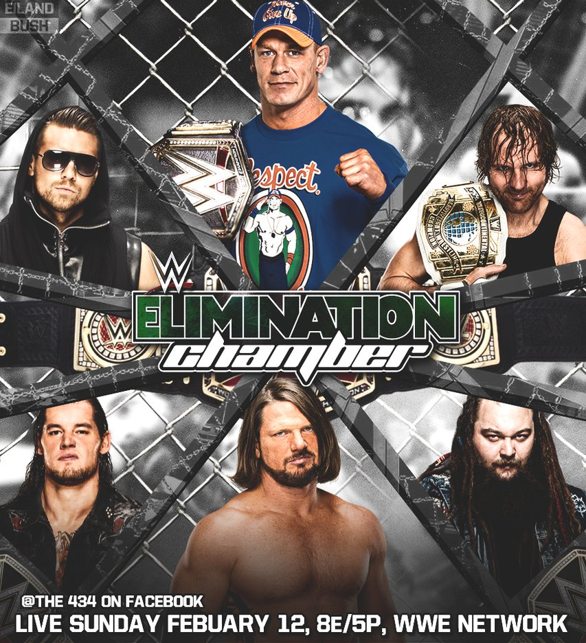 Elimination Chamber 2017 by anarky5054 853x936