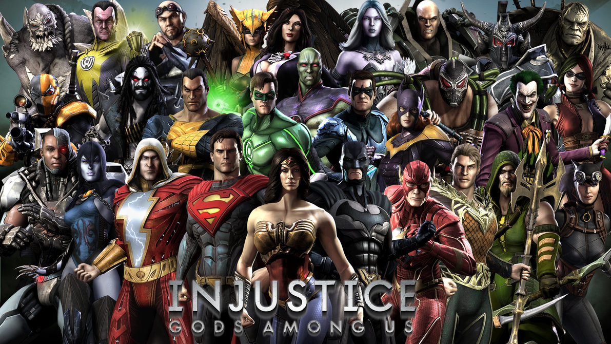More Like Injustice Gods Among Us Wallpaper by Squiddytron 1191x670
