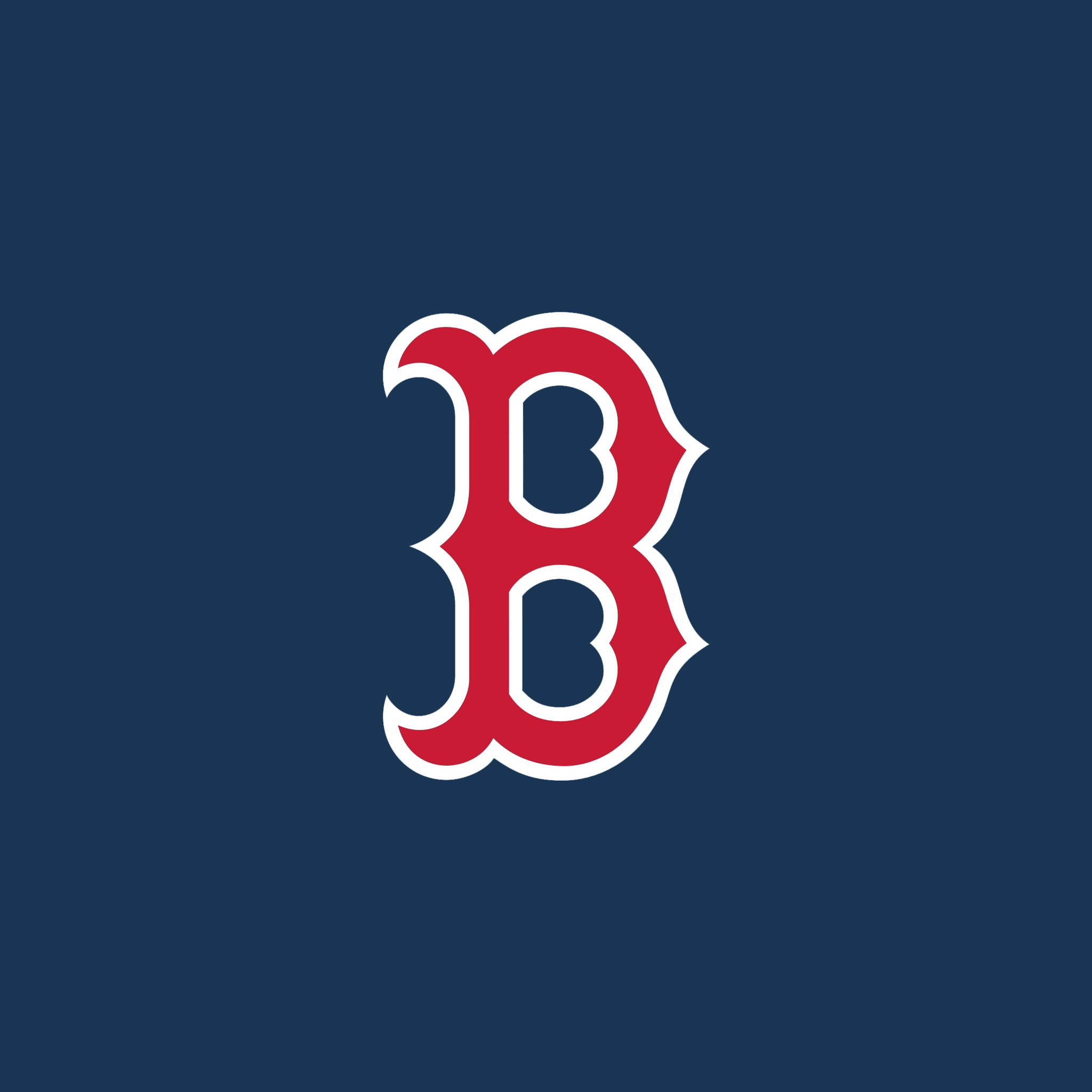 Red Sox Logo Wallpaper 2048x2048