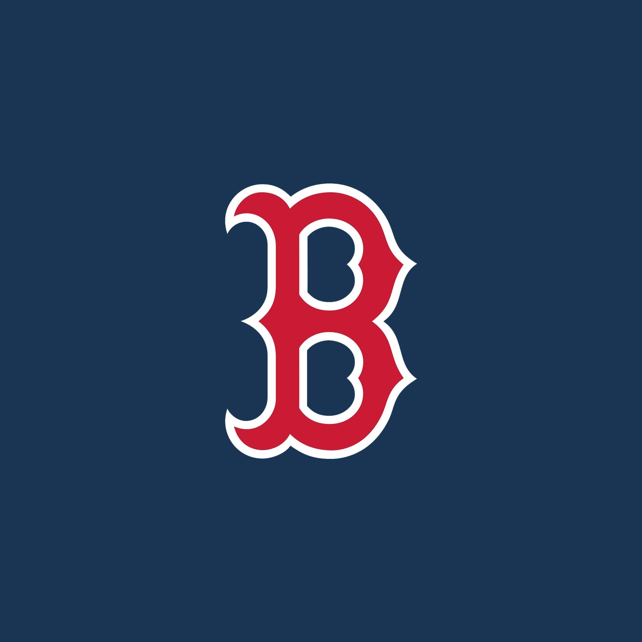 Red Sox Logo Wallpaper 2048x2048