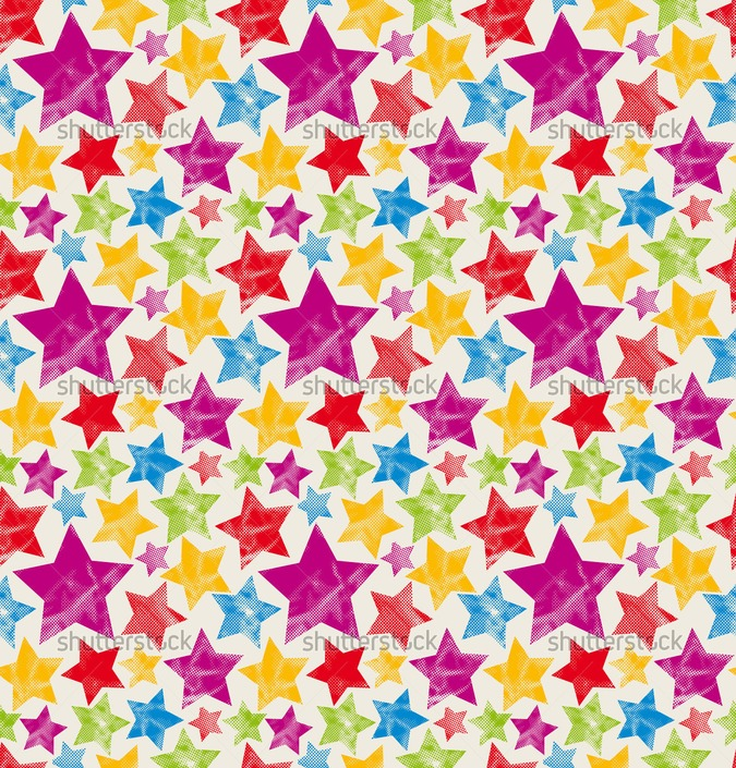 colorful stars wallpaper wallpapersafari