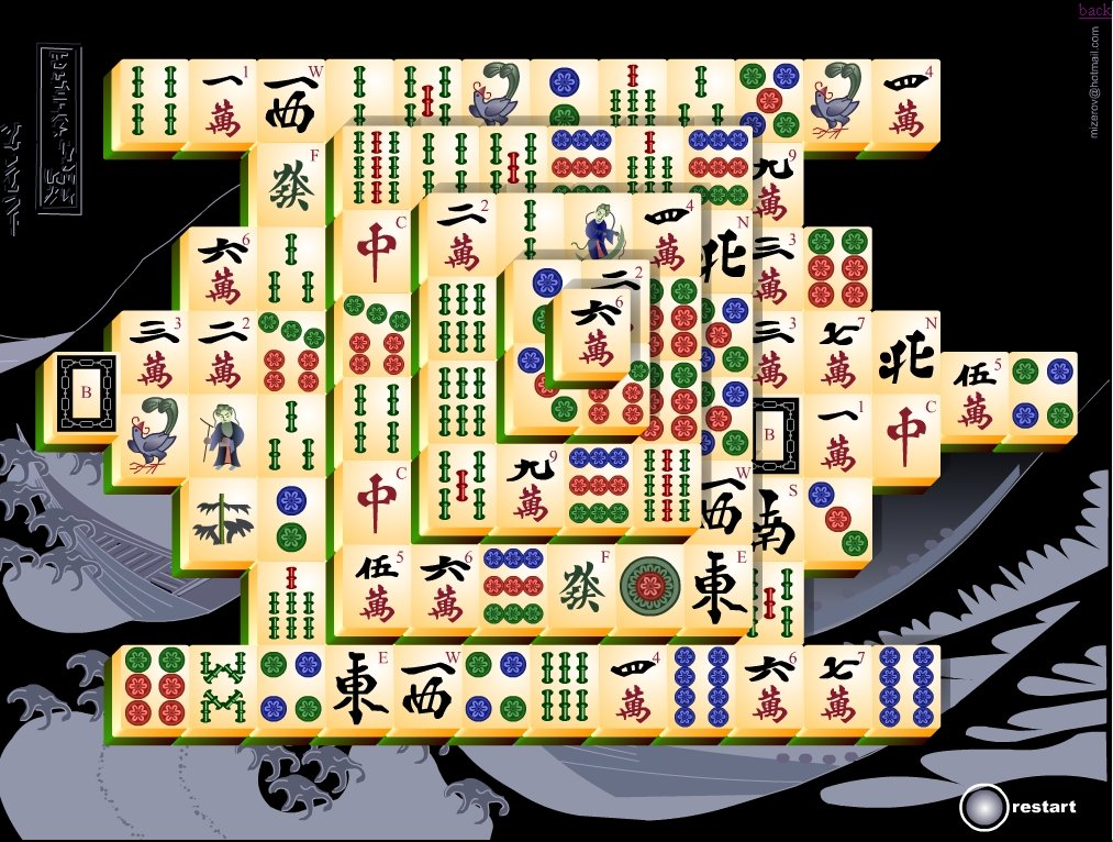 Free Online Games Mahjong