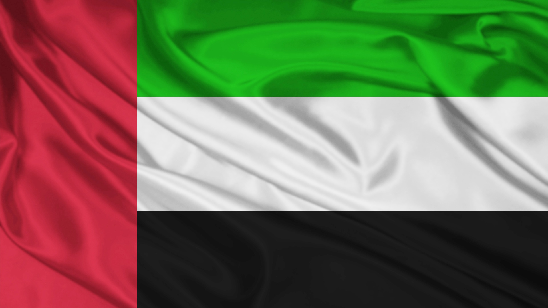 1920x1080 United Arab Emirates Flag desktop PC and Mac wallpaper 1920x1080