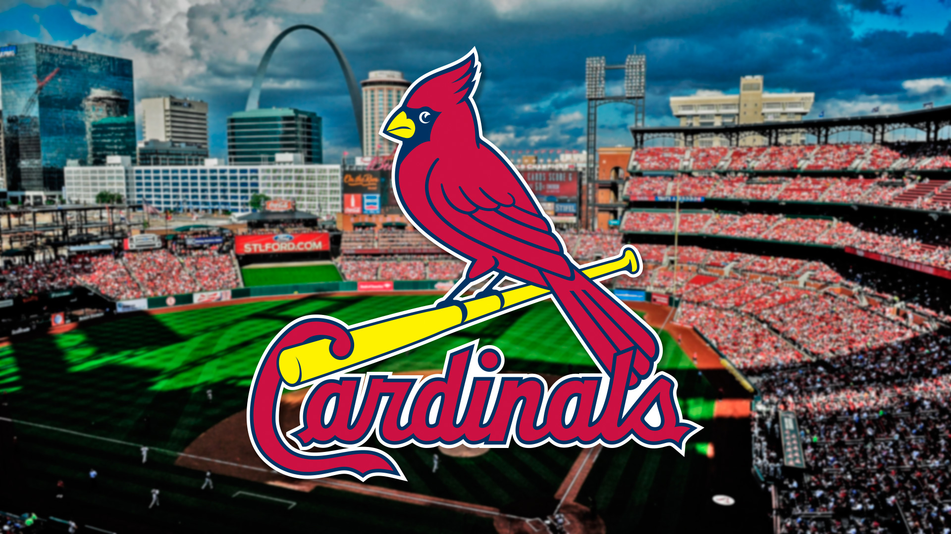Free Download St Louis Cardinals Logo Backgrounds 1920x1080 For