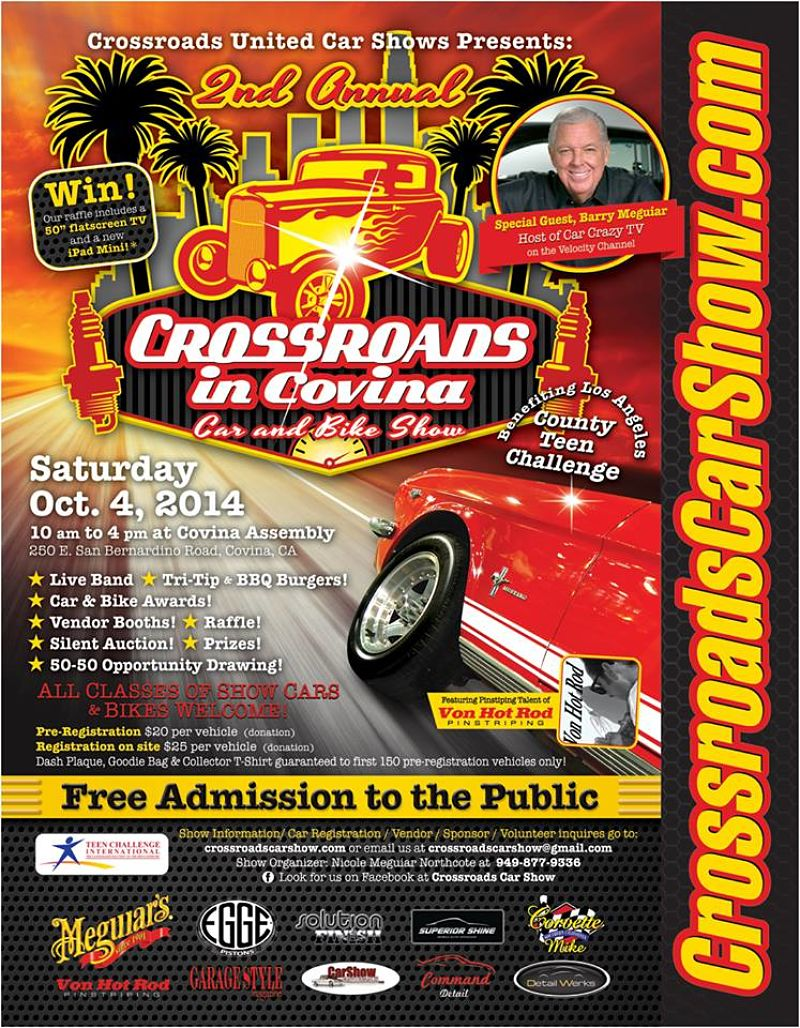 Gauge Magazine 2nd Annual Crossroads In Covina Car and Bike Show 800x1028
