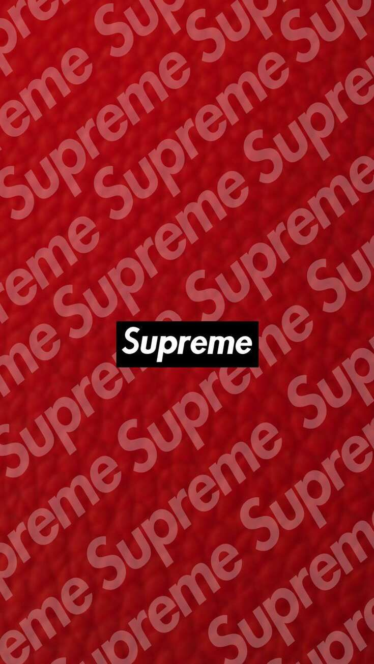 Supreme Red iPhone Wallpaper Supreme wallpaper Supreme iphone 735x1306