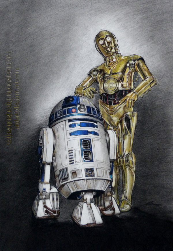 R2d2 And C3po In Movie C3PO and R2D2 Wallpape...